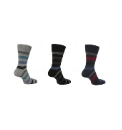 Mens Pack of 6 Gentle Grip Socks