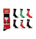 Pack of 6 Novelty Christmas Socks