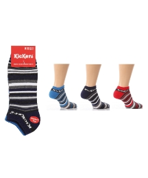 Pack of 3 Kickers Trainer Socks