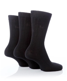 Pack of 3 Pringle Ribbed Socks