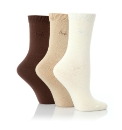 Ladies Pack of 3 Pringle Socks