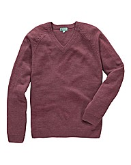 Premier Man V Neck Sweater Long
