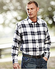 Premier Man Brushed Check Shirt