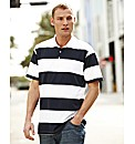 Southbay Stripe Polo Shirt- Long