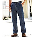 Premier Man Side Elasticated Jeans 27in