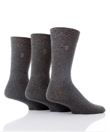 Farah Pack of 3 Gentle Grip Socks