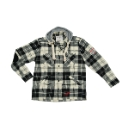 Grey Hawk Hooded Shirt
