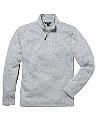 Southbay Fleece Zip Neck Sweater