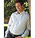 Double TWO Long Sleeve Floral Shirt