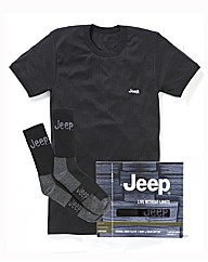 Jeep Thermal Vest & Sock Set