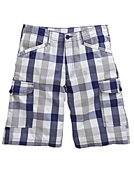 Southbay Checked Cargo Shorts