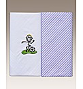 Pk 2 Sports Embroidered Hankie