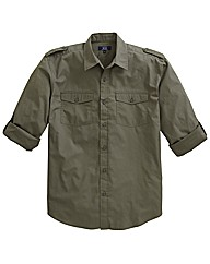Premier Man Long Sleeve Utility Shirt