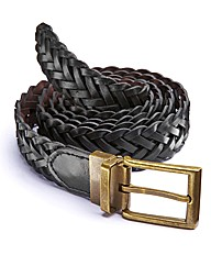 Reversible Plaited Belt