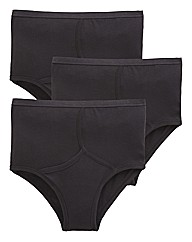 Premier Man Pack 3 High Waisted Briefs