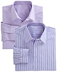 Premier Man Pack of 2 Formal Shirts