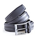 Premier Man Leather Stitch Detail Belt