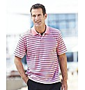 Premier Man Stripe Polo Shirt