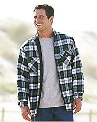 Premier Man Quilt Lined Check Shirt