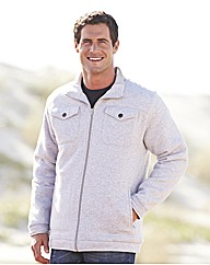 Southbay Quilted Zip Front Sweatshirt