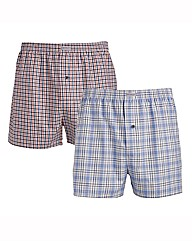 Morley Pack Of Two Woven Boxers
