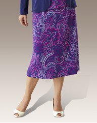 Print ITY Skirt Length 27