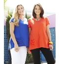 Pack of 2 Long V Neck T-Shirts