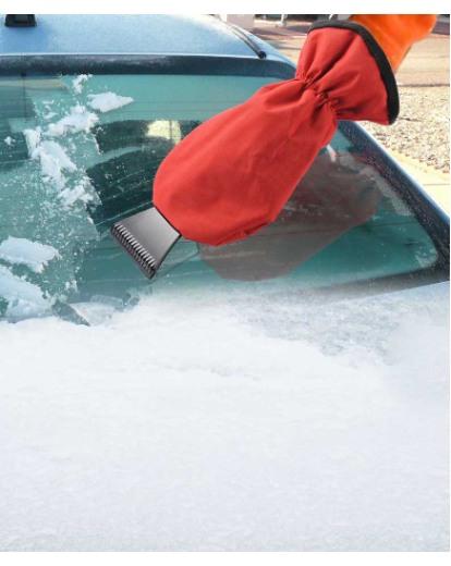 Ice Scraper Mitten
