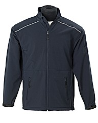 RTY Navy Soft Shell Jacket