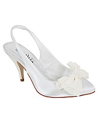Perfect Nicola Bow Trim Sling Back