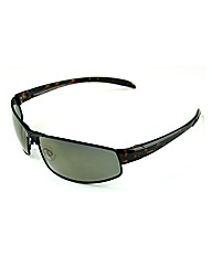 F-Polarised Small Metal Front Sunglasses