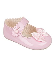 Baypods Girls Pram Shoes