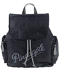 Pineapple Backpack With Exterior Pockets