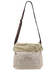 Religion Canvas Shoulder Bag