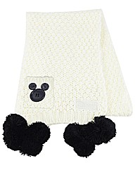 Disney Cream Scarf