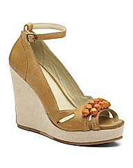 J Shoes Asta Wedge Sandals