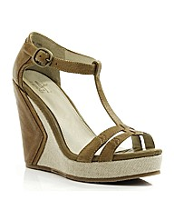 J Shoes Huskari Wedge Sandals