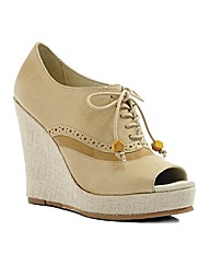 J Shoes Kyra Wedge Shooties