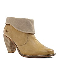 J Shoes Saloon Western Ankle Boots