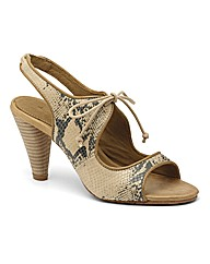 J Shoes Flora Heeled Sandals