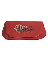 Spencer Ogg Red Love Clutch Bag