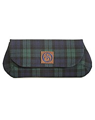 Spencer Ogg Tartan Oversized Clutch Bag
