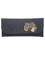 Spencer Ogg Beer Wench Denim Clutch Bag