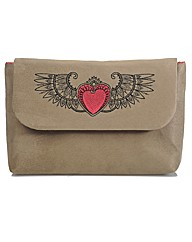 Spencer Ogg Buff Boxy Clutch Bag