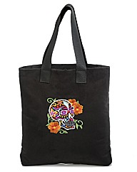 Spencer Ogg Sugar Skull Tote Bag