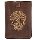 Spencer Ogg Leather Skull Kindle Cover