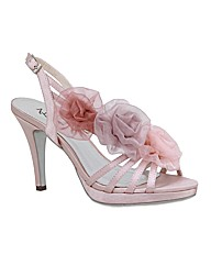 VT Collection Rose Trim Sandals