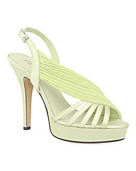 VT Collection Strippy Platform Sandals