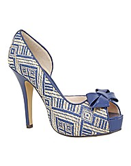 VT Collection Twist Trim Court Shoes