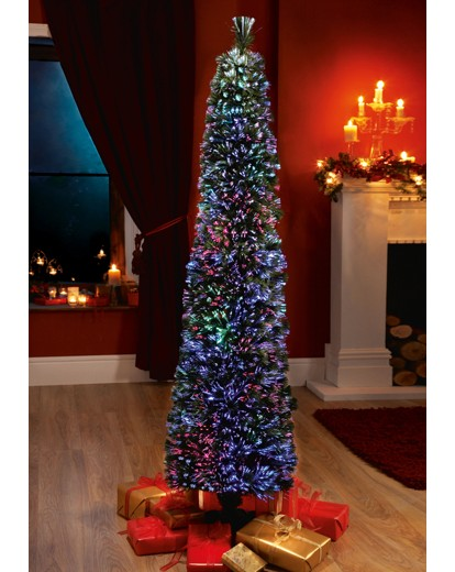 Super Slim Fibre Optic Tree 5ft J D Williams - Fibre Optic Christmas Tree Uk Only